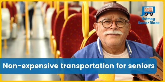 Non-expensive transportation services for seniors by Nutmeg Senior Riders