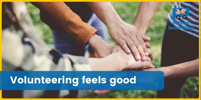 Volunteering feels good by Nutmeg Senior Riders